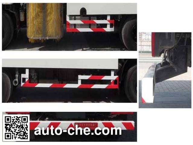 Yajie BQJ5080GQXB highway guardrail cleaner truck
