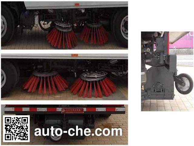 Yajie BQJ5080TSLE6 street sweeper truck