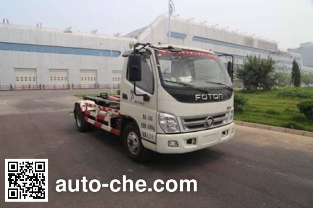 Yajie BQJ5080ZXXBC detachable body garbage truck