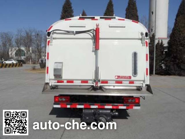 Yajie BQJ5081TSL street sweeper truck