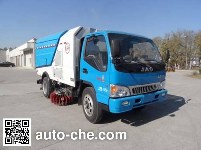 Yajie BQJ5100TXSE5 street sweeper truck