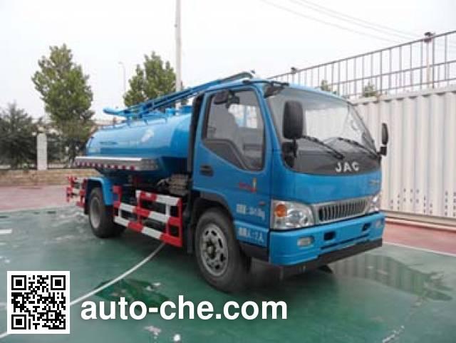 亚洁牌BQJ5101GQXH下水道疏通清洗车