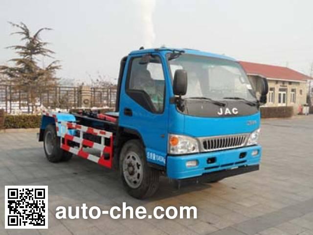 Yajie BQJ5101ZXXH detachable body garbage truck