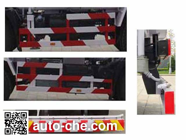 Yajie BQJ5120GSSDS sprinkler machine (water tank truck)