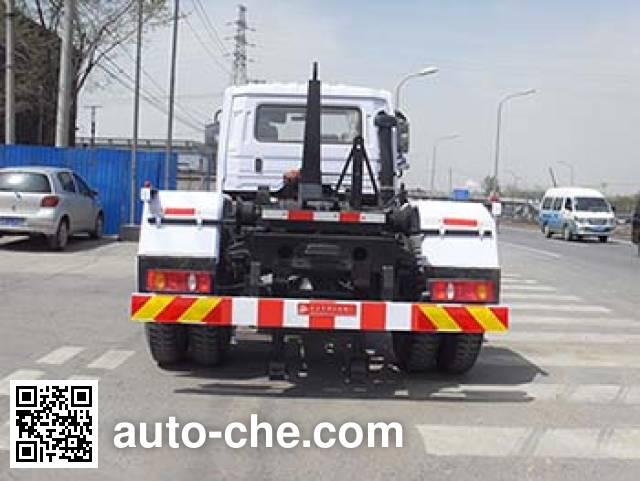 Yajie BQJ5120ZXXDS detachable body garbage truck