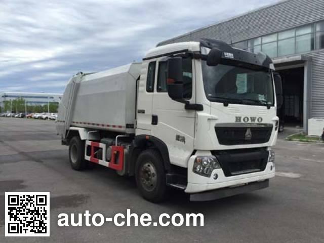Yajie BQJ5123ZYSE5 garbage compactor truck