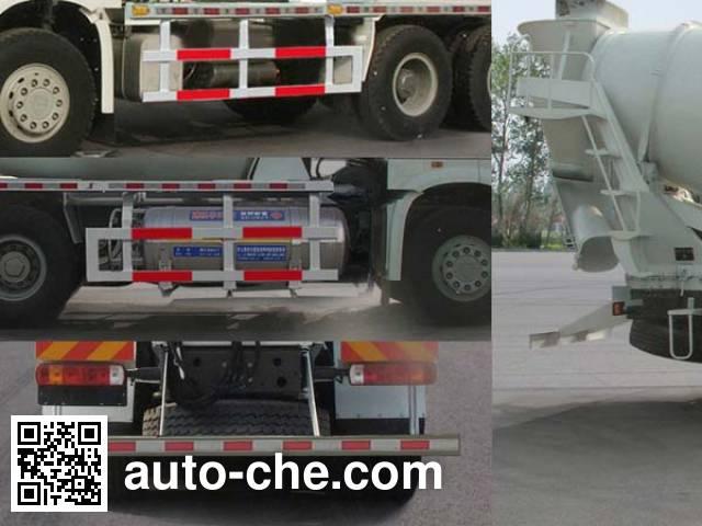 Yanshan BSQ5250GJB concrete mixer truck