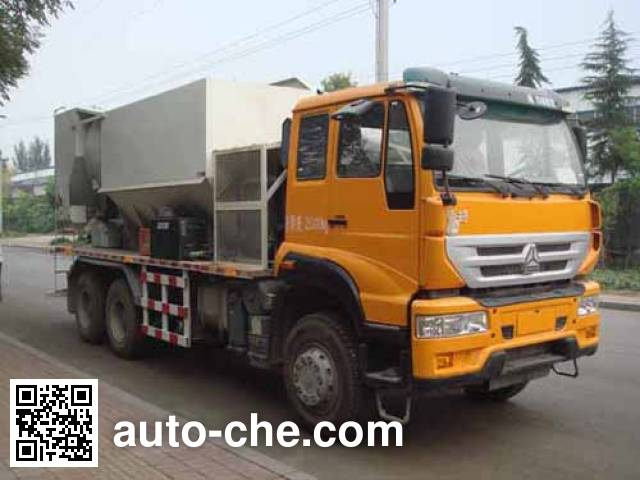 Yanshan BSQ5251TBH concrete production mixing truck
