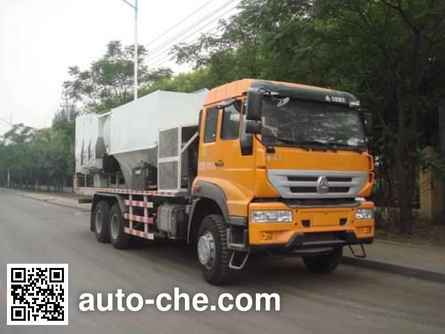 Yanshan BSQ5252TBH concrete production mixing truck