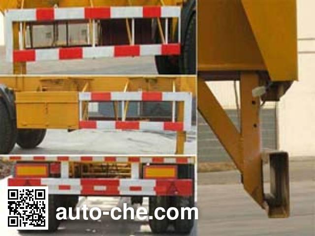 Yanshan BSQ9370TJZK container transport trailer