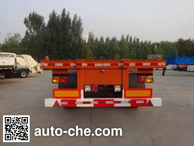 Yanshan BSQ9400TJZ container transport trailer
