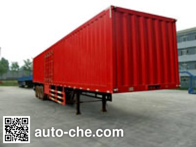 Yanshan BSQ9400XXY box body van trailer