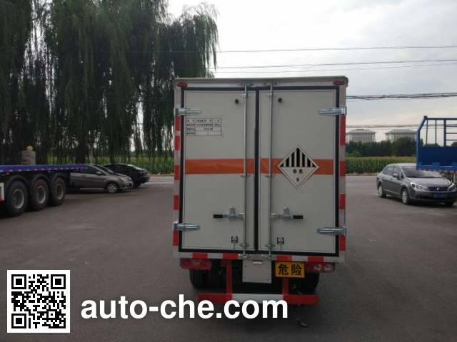 Zhongyan BSZ5039XZWC5 dangerous goods transport van truck