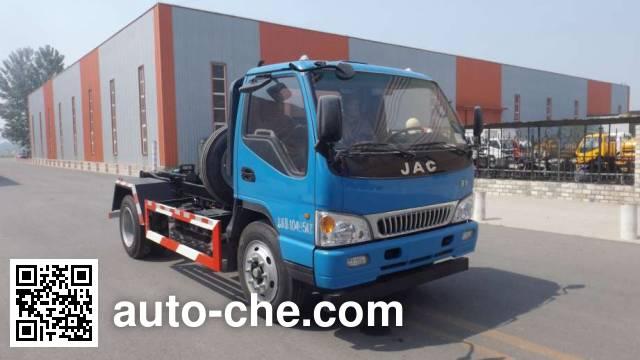 Zhongyan BSZ5106ZXXC6 detachable body garbage truck