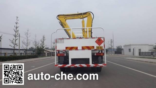 中燕牌BSZ5161TQPSQ气瓶运输车
