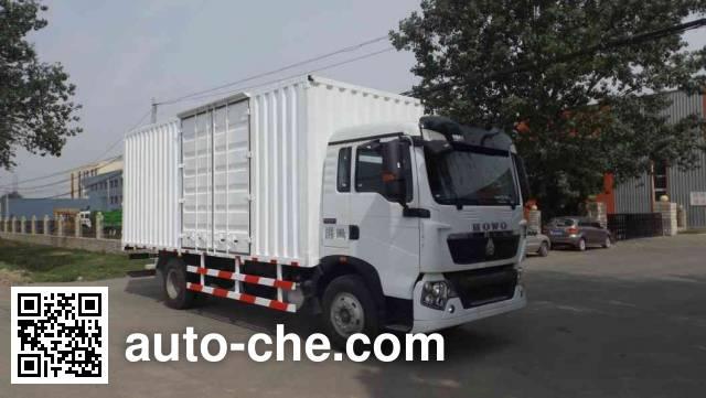 Zhongyan BSZ5164XXYC5T050 box van truck