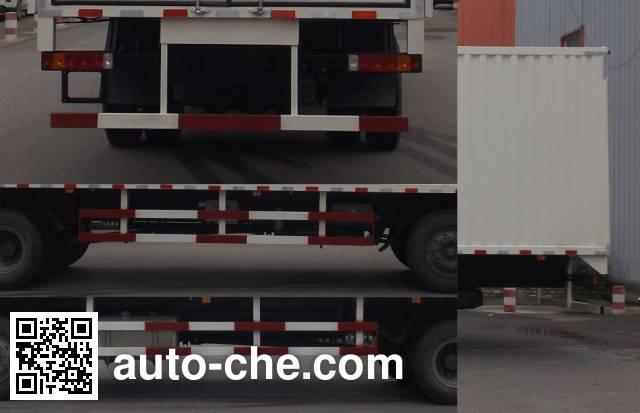 Zhongyan BSZ5254XYKC5 wing van truck