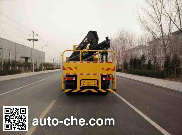 Zhongyan BSZ5312JSQ truck mounted loader crane