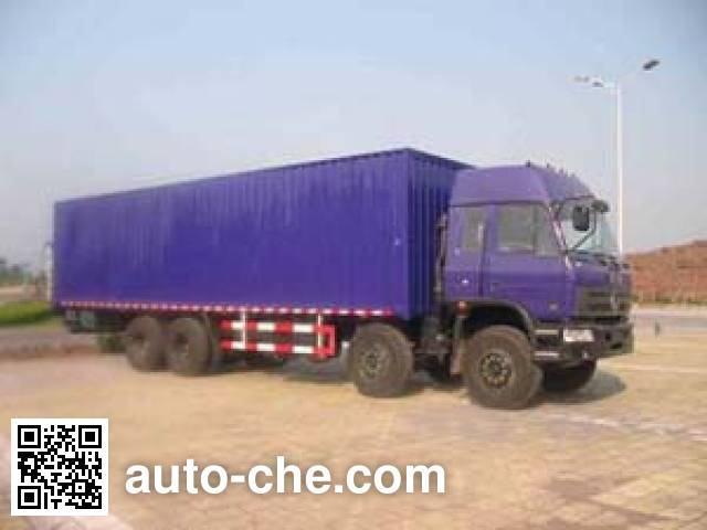 Weiteng BWG5240XXY box van truck