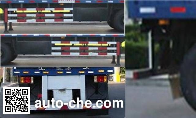 Weiteng BWG9404XXY box body van trailer
