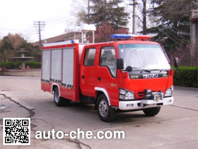 银河牌BX5060TXFJY55W抢险救援消防车