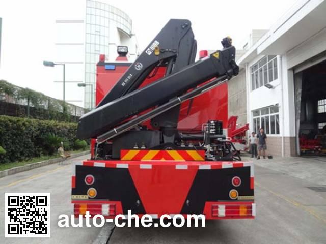 银河牌BX5120TXFJY162/BZ抢险救援消防车