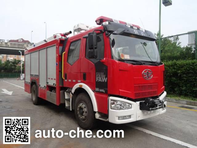 银河牌BX5170GXFPM50/J4泡沫消防车
