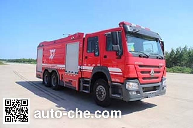银河牌BX5270GXFPM120/HW5泡沫消防车