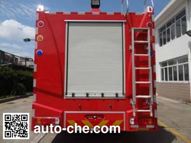 Yinhe BX5330GXFPM160/HW4 foam fire engine