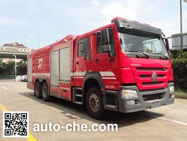 银河牌BX5330GXFPM160/HW5泡沫消防车