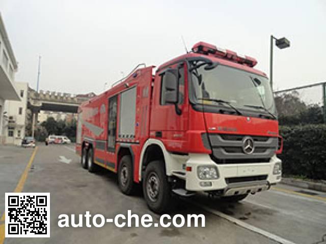 银河牌BX5400GXFPM180/BZ4泡沫消防车