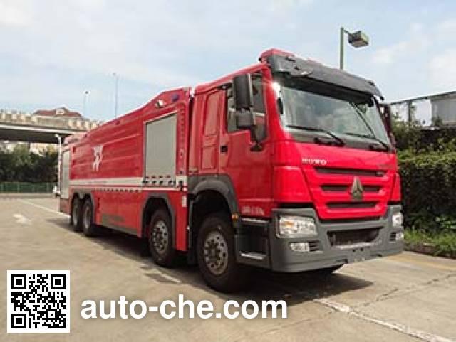 银河牌BX5410GXFPM230/HW5泡沫消防车