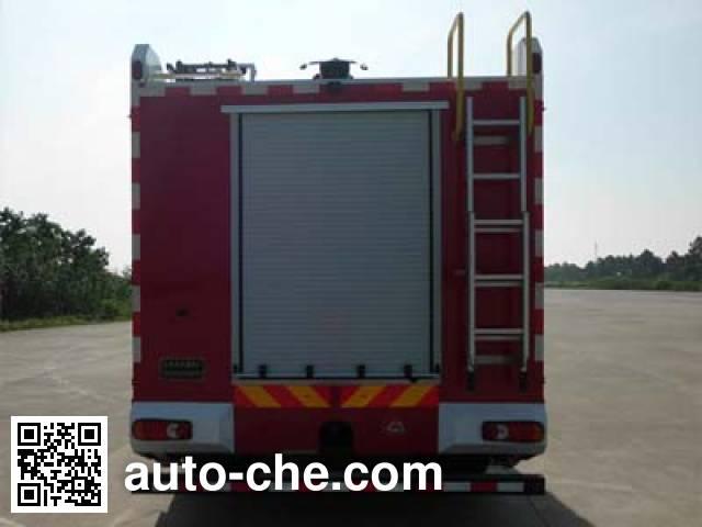 海潮牌BXF5170GXFPM60/YW泡沫消防车
