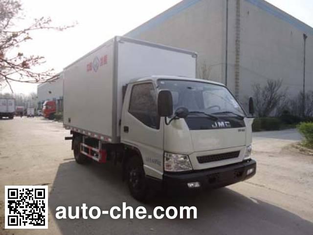 Bingxiong BXL5047XBW6 insulated box van truck