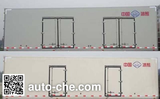 Bingxiong BXL5312XBW3 insulated box van truck