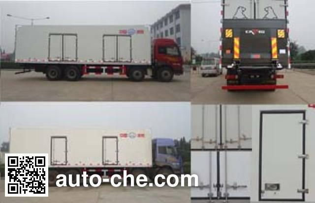 Bingxiong BXL5313XBW3 insulated box van truck