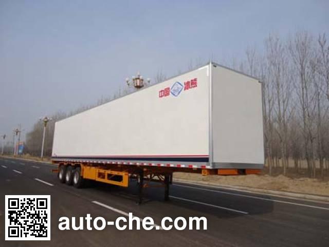 Bingxiong BXL9401XBW insulated van trailer