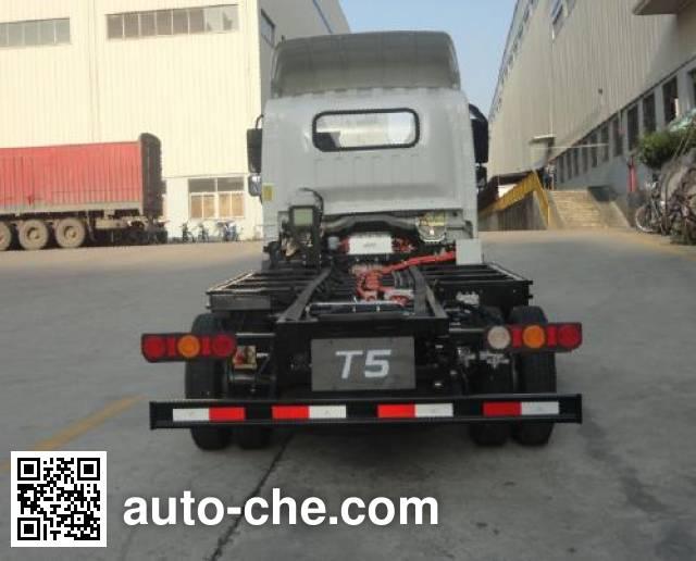 比亚迪牌BYD1070A7BBEVD纯电动轻型货车底盘