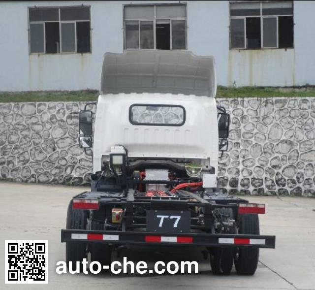 比亚迪牌BYD111017GBEVD纯电动货车底盘