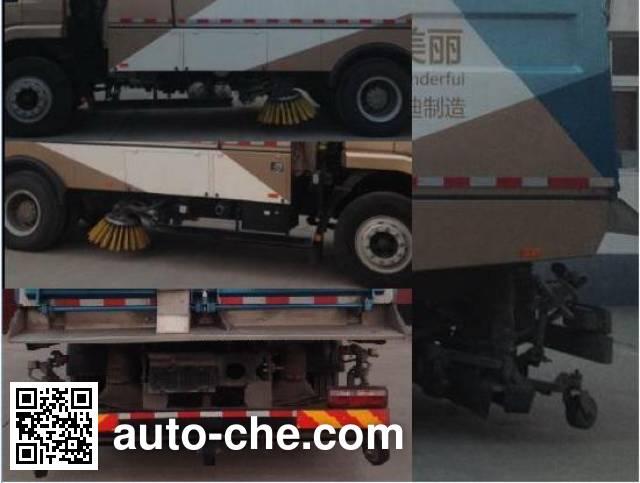 BYD BYD5160TXSBEV electric street sweeper truck