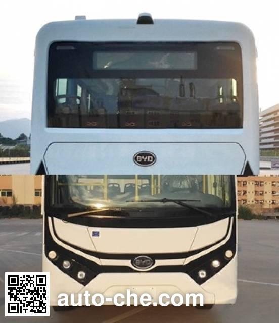 比亚迪牌BYD6100HGEV纯电动城市客车
