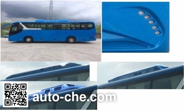 比亚迪牌BYD6100LLEV纯电动客车