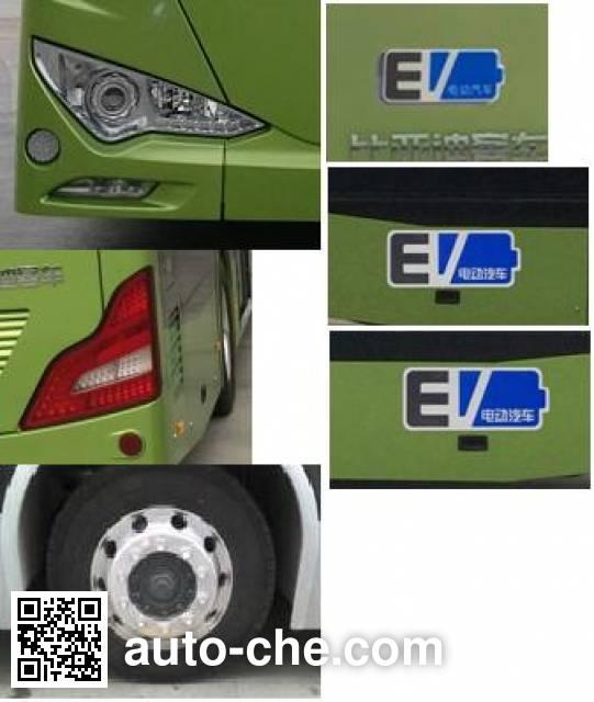 比亚迪牌BYD6121LGEV纯电动城市客车