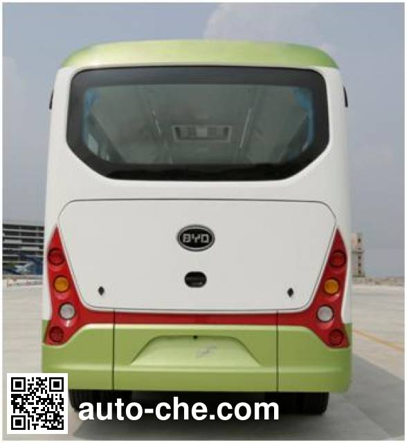比亚迪牌BYD6650HZEV纯电动城市客车
