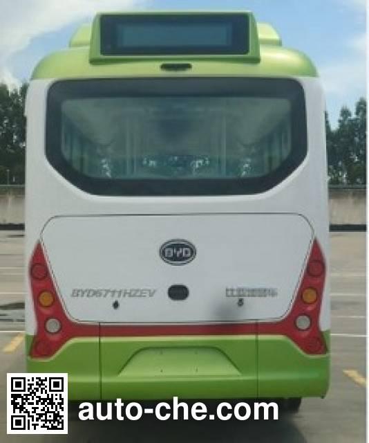 比亚迪牌BYD6711HZEV纯电动城市客车