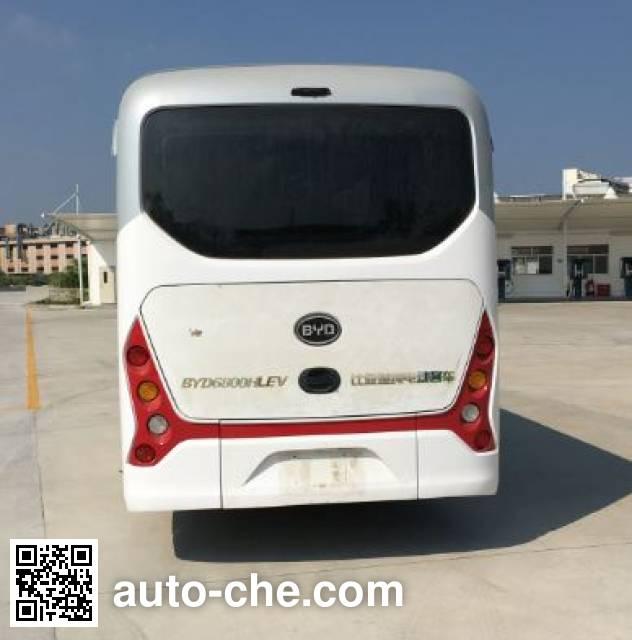 比亚迪牌BYD6800HLEV纯电动旅游客车