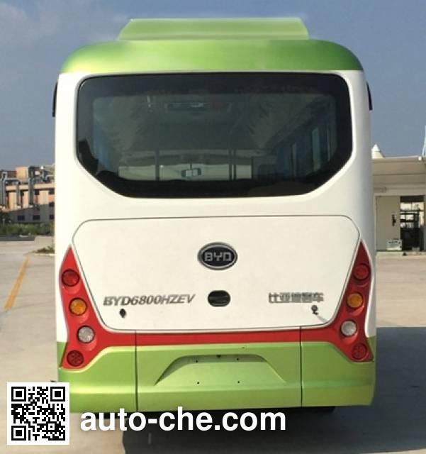 BYD BYD6800HZEV electric city bus