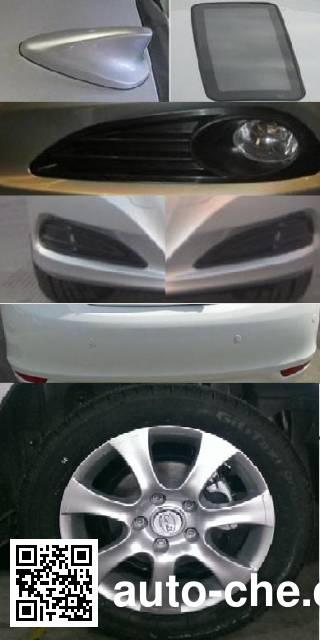 BYD BYD7005BEV electric car