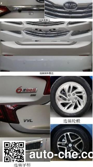 BYD BYD7151W5 car