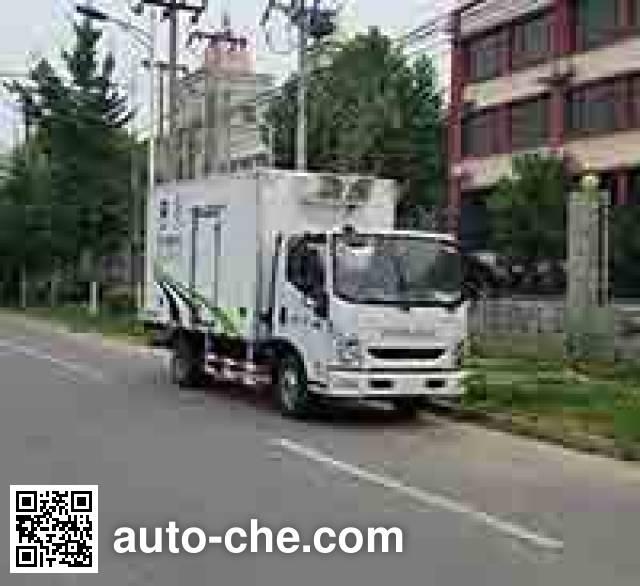 Lansu BYN5041XLC refrigerated truck